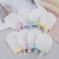 1pair newborn baby mittens baby cotton anti scoring gloves boy girl accessorieYU