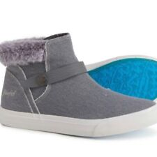 Blowfish Melt Mid Sneakers - Alaskan Faux Fur 9.5 Sneaker Booties
