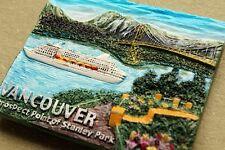 Canada Vancouver Stanley Park 3D Resin Fridge Magnet Tourist Travel Souvenir