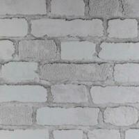 Red Brick Effect Wallpaper Slightly Embossed Textured Finish covers 5m2