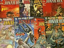 ALL STAR WESTERN. NO'S 19-26. 8 ISSUE LOT. FEATURING JONAH HEX.  NEW 52.  DC.