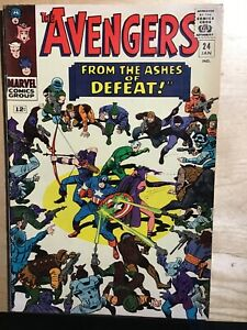 THE AVENGER #24 From The Ashes Of Defeat!