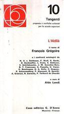 X28 L'Aldilà Gregoire 10 Tangenti Ed. D'Anna