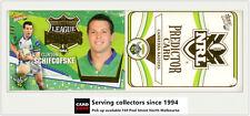 2006 Select NRL Invincible League Leaders CC3 C. Schifcofske + Raiders Predictor