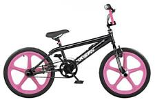 "XN Skyway Freestyle Girls Kids 20"" 5 Spoke Mag Wheels BMX Bike Bicycle Gyro XN47"