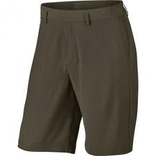 Nike  34 Men's Flat Front Stretch Woven GOLF Shorts  NEW  833224 325 Cargo Khaki
