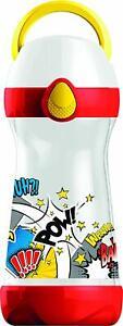 Maped Picnik Concepts 430ml Lunch Water Bottle - Comic Design Leak Proof