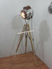 Best Designer Search Light Wooden Spot Light With Teak Tripod Stand Home Decor