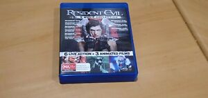 Resident Evil 9 Movie Collection (Blu-ray)