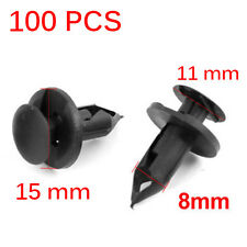100x Fender Clips Fasteners Push ATV Retainer for Honda Suzuki Kawasaki Polaris