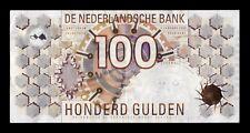 B-D-M Holanda Netherlands Países Bajos 100 Gulden 1992 Pick 101 EBC XF