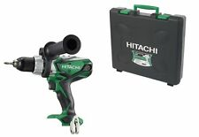Hitachi DV18DSDL/L4 18V Combi Drill - BODY & HARD CASE