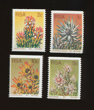 SOUTH AFRICA, scott  430-433 - VFMNH  coil Flowers of 1974