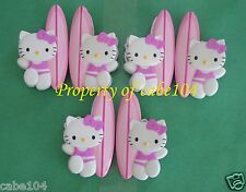 New listing Sanrio Hello Kitty Beach Towel Clips or Bag Clips - 6 Loose Clips