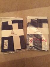 Joules French Navy Placemats/Napkins X 8, New