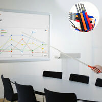 New Stick Retractable Telescopic Teachers Whiteboard Hand Pointer Classroom Tool
