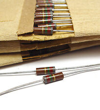 30x Vintage Kohlemasse Widerstand 8.2 MOhm, 0.5 W, Resistor f. Tube Amps, NOS