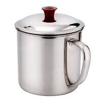 Edelstahl D Formgriff Becher Wasser Becher 400ml-Kapazität Kaffee-Wasser Cup DE