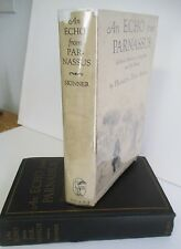 ECHO from PARNASSUS, Memories of Longfellow & Friends by Henrietta Dana Skinner