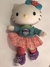 "Dance Hello Kitty 13"" Doll Poseable Vinyl Hard Body Dressable, Collectible 2013"