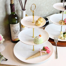 Fit Cupcake Stand 3 Tier Cake Plate Stand Handle Rod Fittings Without Plates B