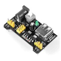 5 Pack/lot MB-102 Breadboard 3.3V/5V Power Supply Module Solderless For Ard P3T9