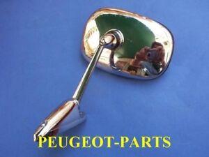 Peugeot 404 - 504 side Mirror Chome Set x2 Unit (left & Right)