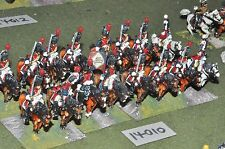 25mm napoleonic french horse grenadiers 16 cavalry (14010) painted by mac warren