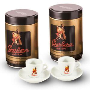 2 Can di caffè macinato + 2 tazzine