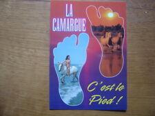carte postale Postcard LA CAMARGUE NATURISME FKK AKT nu artistique