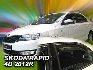 Heck-Windabweiser für Skoda Rapid NH 2012 Liftback Hatchback 5türer hinten