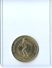 RARE 1997 PINNACLE MINT BRETT FAVRE JUMBO COMMEMORATIVE BRASS COIN #02 ~ PACKERS