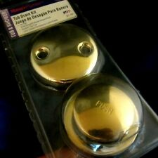 MASTER PLUMBER TUB DRAIN KIT--SOLID POLISHED BRASS--#311 167 MADE IN USA--NEW!