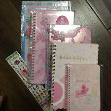 Sanrio Hello Kitty Assorted Notepad Notebook Stickers Set