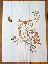Wise Owl Stencil Riutilizzabile Mylar Foglio per Arts & Crafts, fai da te