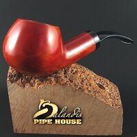 "Outstanding Mr.Balandis original Hand made smoking pipe ""SPARROW"" smooth Trawer"