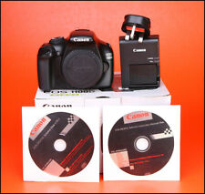 Canon EOS 1100D Camera Body + Genuine Battery & Charger  Low Use only 748 Shots