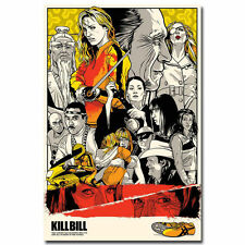 Kill Bill Classic Film Movie Silk Poster Bedroom 24x36inch