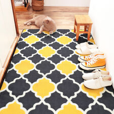 New Moroccan Geometry Door Mat Entrance Non Slip Waterproof Rug Indoor Outdoor