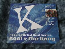 "KOOL & THE GANG ""POPULAR ARTIST BEST SERIES KOOL & THE GANG"" JAPAN IMPORT CD"