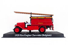 New 1:50 Diecast Fire Engine Belgium Chevrolet 1929 Fire Truck Vehicle