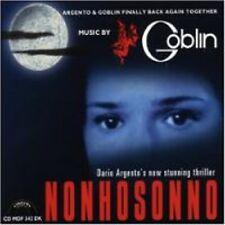 Goblin: Nonhosonno (CD New/Sealed) Dario Argento