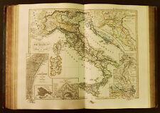 1854c,SPRUNER ATLAS:ITALIA.1450-1792.SICILIA.CORSICA,VENEZIA.GENOVA.MALTA.ETNA