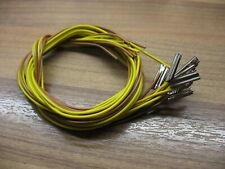 Fleischmann H0 10 x  Profigleis - Verbinder mit Anschlußkabel  0,25 mm / 200 cm