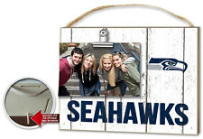 Seattle Seahawks Clip It Weathered Logo Photo Frame [NEW] NFL Picture Plaque