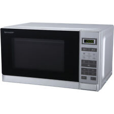 Sharp Microwave R220SLM 800 Watt Microwave Free Standing Silver New from AO
