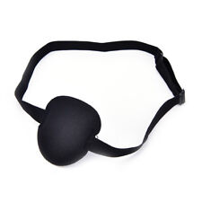 Medical Use Concave Eye Patch Foam Groove Adjustable Strap Washable Eyeshades AB