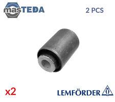 2x LEMFÖRDER REAR LOWER CONTROL ARM WISHBONE BUSH 11021 01 I NEW OE REPLACEMENT