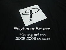 Playhouse Square Cleveland Broadway 2008 Mary Poppins + 1 Xl shirts lot of 2