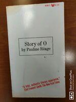 Story of O 1965 Pauline Reage 1st Printing USA HCDJ Grove Press Erotica BDSM sex